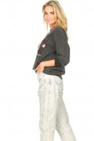 Sofie Schnoor    Sweater with imprint Viola   black     Picture 6