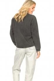 Sofie Schnoor    Sweater with imprint Viola   black     Picture 7