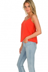 Des Petits Hauts |  Sleeveless top Tulyss | red  | Picture 3