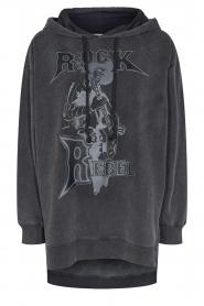 Sofie Schnoor |  Sweater dress Melina | black  | Picture 1