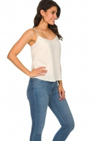 Des Petits Hauts |  Sleeveless top Tulyss | natural  | Picture 4