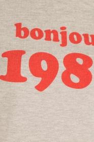 Set | Sweater tanktop Bonjour | grijs | Afbeelding 6