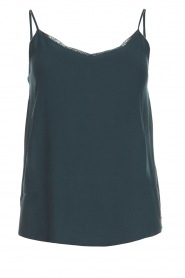 Sleeveless top Tulyss | green