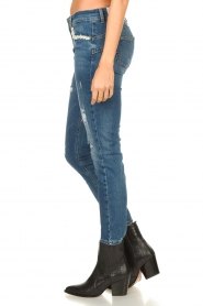 Liu Jo | Jeans with pearls Flavia | blue  | Picture 6