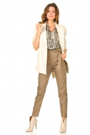 Sofie Schnoor |  Top with lurex Serphina | natural  | Picture 3