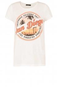 Set | T-shirt San Diego | wit  | Afbeelding 1