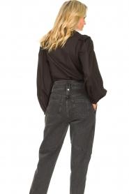 Sofie Schnoor |  Broderie blouse Charlene | black   | Picture 6