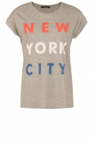 Set | T-Shirt NYC | grijs