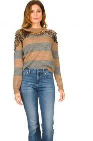 Liu Jo | Sweater with sequins Nina | multi  | Picture 2
