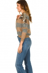 Liu Jo | Sweater with sequins Nina | multi  | Picture 5