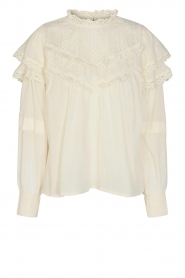 Sofie Schnoor |  Top with lace Frencia | natural  | Picture 1