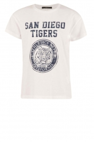 T-shirt Tiger | wit