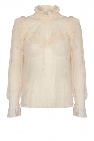 Sofie Schnoor |  Lace top Vienne | natural  | Picture 1