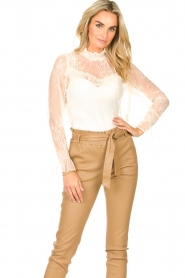 Sofie Schnoor    Lace top Vienne   natural    Picture 2
