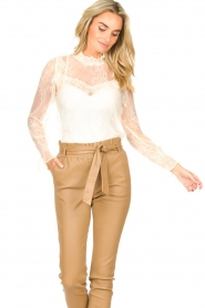 Sofie Schnoor    Lace top Vienne   natural    Picture 4