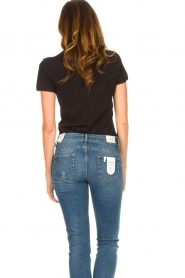 Liu Jo | T-shirt with chain detail Edor | black  | Picture 6