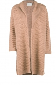 Knitted cardigan Phora | brown