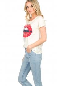 Set | T-shirt Lala | wit  | Afbeelding 4