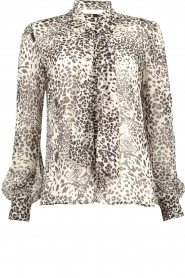 Liu Jo | Blouse with print Manuel | animal print  | Picture 1