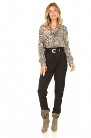 Liu Jo | Blouse with print Manuel | animal print  | Picture 3