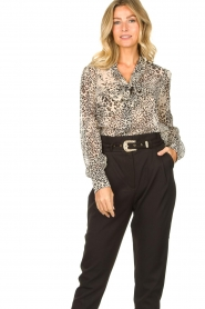 Liu Jo | Blouse with print Manuel | animal print  | Picture 4