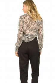 Liu Jo | Blouse with print Manuel | animal print  | Picture 7