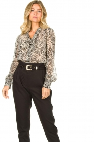 Liu Jo | Blouse with print Manuel | animal print  | Picture 5