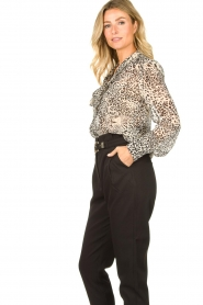 Liu Jo | Blouse with print Manuel | animal print  | Picture 6