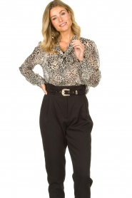 Liu Jo | Blouse with print Manuel | animal print  | Picture 2