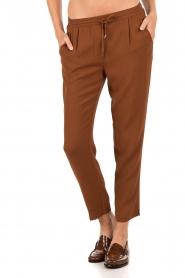 Dante 6 | Pantalon Dawson | bruin  | Afbeelding 2