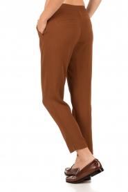 Dante 6 | Pantalon Dawson | bruin  | Afbeelding 5