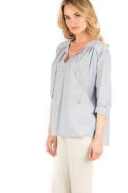 Set |  Oversized blouse Romy | blue  | Picture 4