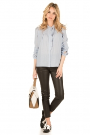 Set |  Oversized blouse Renee | blue  | Picture 3