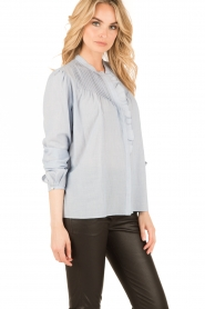 Set |  Oversized blouse Renee | blue  | Picture 4