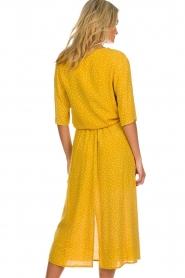 Des Petits Hauts |  Polkadot blouse Espelette | yellow  | Picture 5