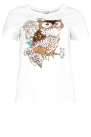 Liu Jo |  T-shirt with print Wild | white  | Picture 1