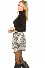 Liu Jo | Skirt with print Manuel | animal print  | Picture 4