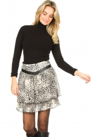 Liu Jo | Skirt with print Manuel | animal print  | Picture 2