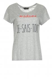 Set | T-shirt Madame | grijs  | Afbeelding 1