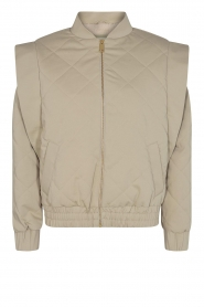 Sofie Schnoor |  Padded jacket Miela | green  | Picture 1