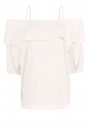 Set |  Off-shoulder top Gilda | white  | Picture 1