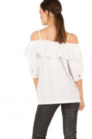 Set |  Off-shoulder top Gilda | white  | Picture 6
