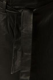 Set | Leren rok Kate | zwart  | Afbeelding 6