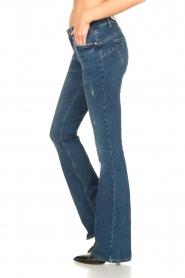 Liu Jo | Flared jeans Kareen | blauw   | Afbeelding 6
