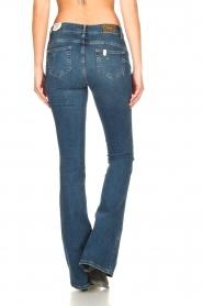 Liu Jo | Flared jeans Kareen | blauw   | Afbeelding 7
