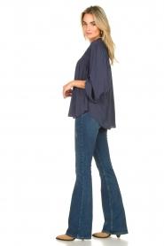 Liu Jo | Flared jeans Kareen | blauw   | Afbeelding 3