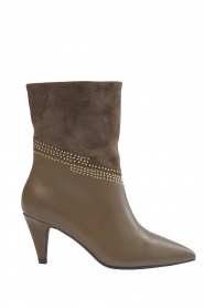 Sofie Schnoor    Leather studded ankle boost Zoella   taupe    Picture 1