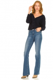 Liu Jo |  Flared jeans Rosa | blue  | Picture 3