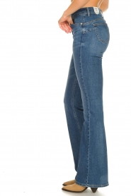 Liu Jo |  Flared jeans Rosa | blue  | Picture 6