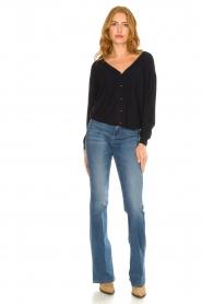 Liu Jo |  Flared jeans Rosa | blue  | Picture 2